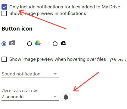get notified whendocument is uploaded into a folder in google drive